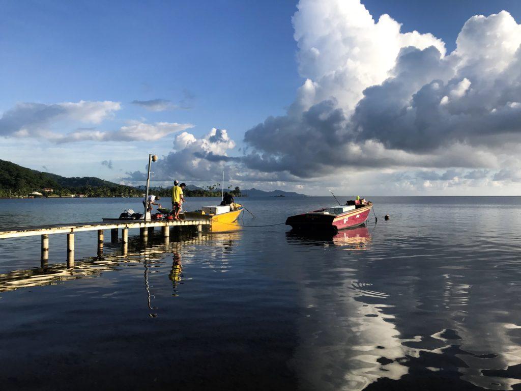 FRENCH POLYNESIA POLYNESIE TAHITI RAIATEA