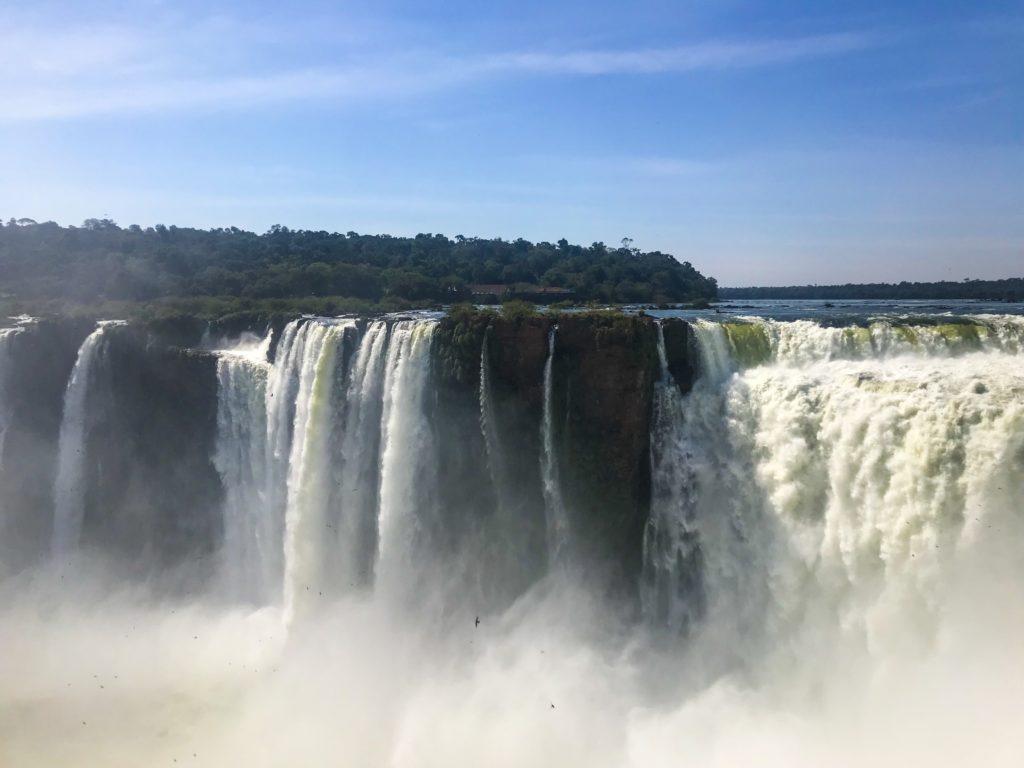 BRÉSIL BRAZIL FOZ DE IGUAZU WATERFALL