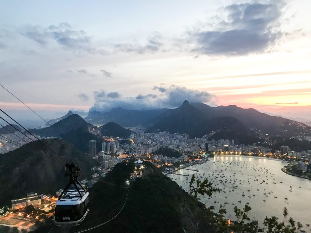 Rio Brésil Brazil Favelas visite pain de sucre