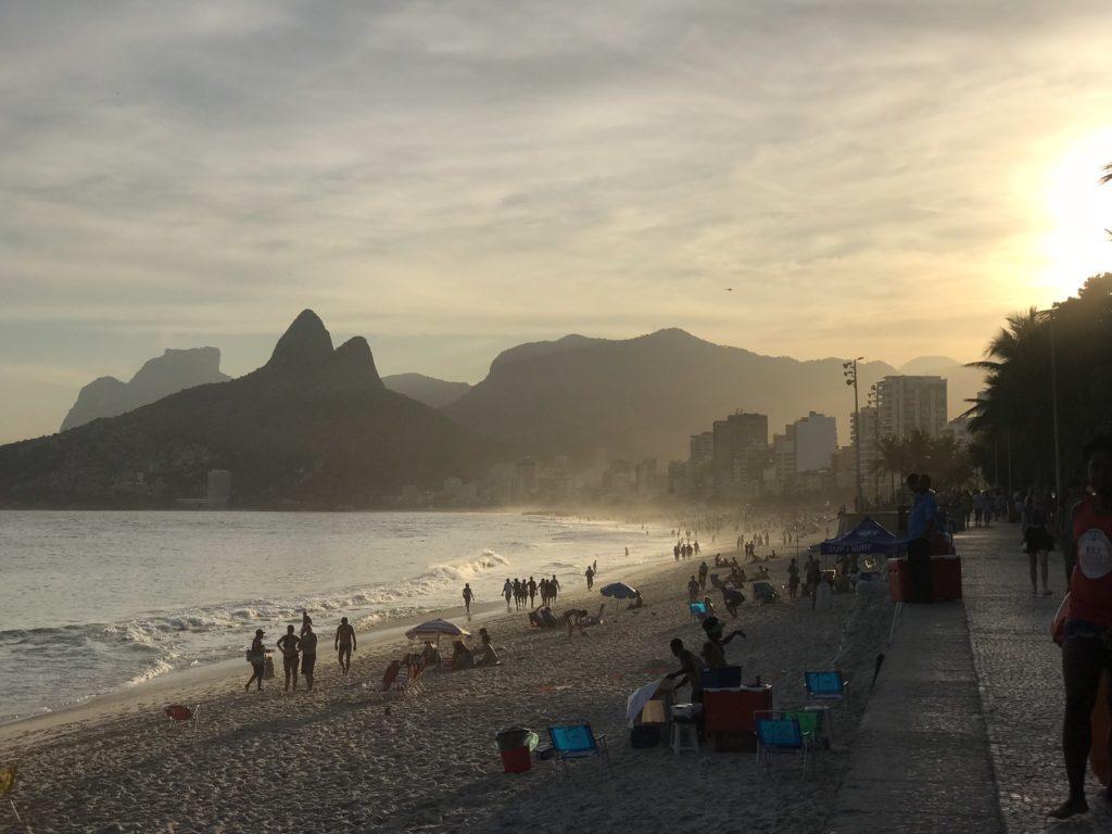 Rio Brésil Brazil Copacabana beach