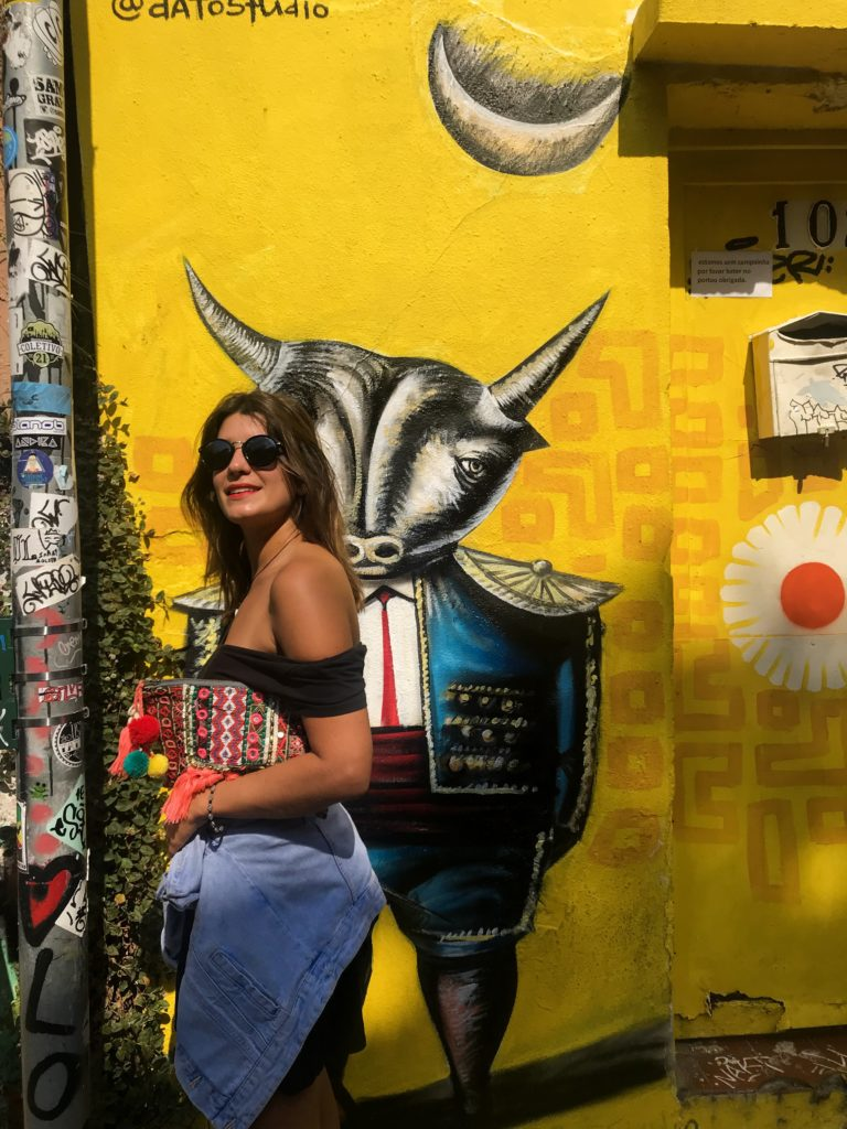 Brésil Brazil Sao Paolo Vila Madalena street art