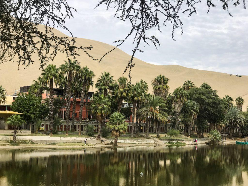 Oasis Huacachina Ica Pérou Peru
