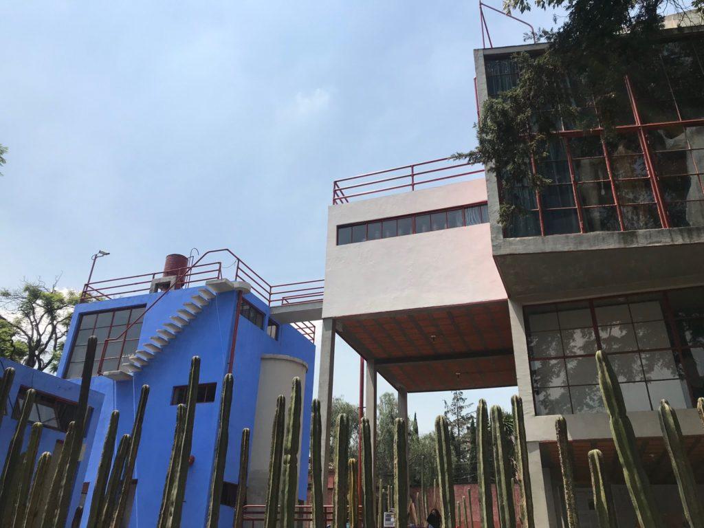 Mexico City Mexique Quartier Coyacan Frida Khalo Museum Diego Riviera