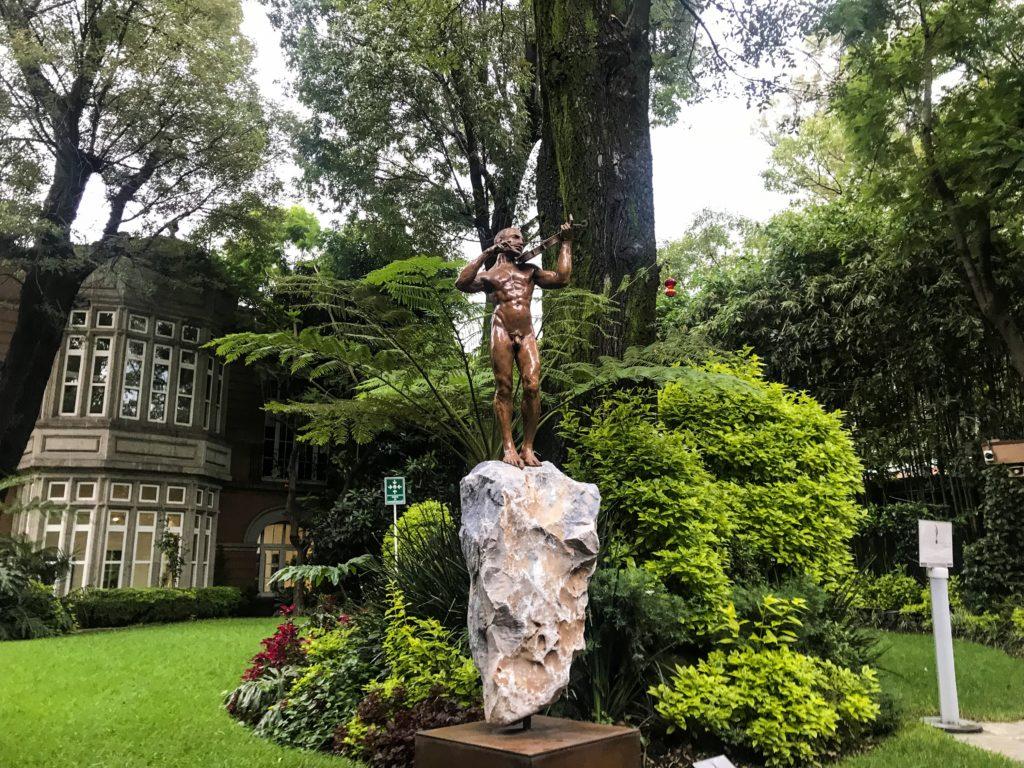 Mexico City Mexique Quartier Coyacan Frida Khalo Museum Diego Riviera Chaputaleco park