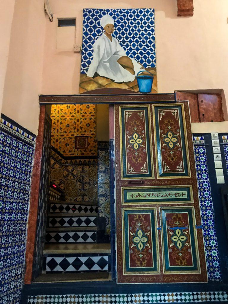 visiter maroc morocco Fes old medina hammam