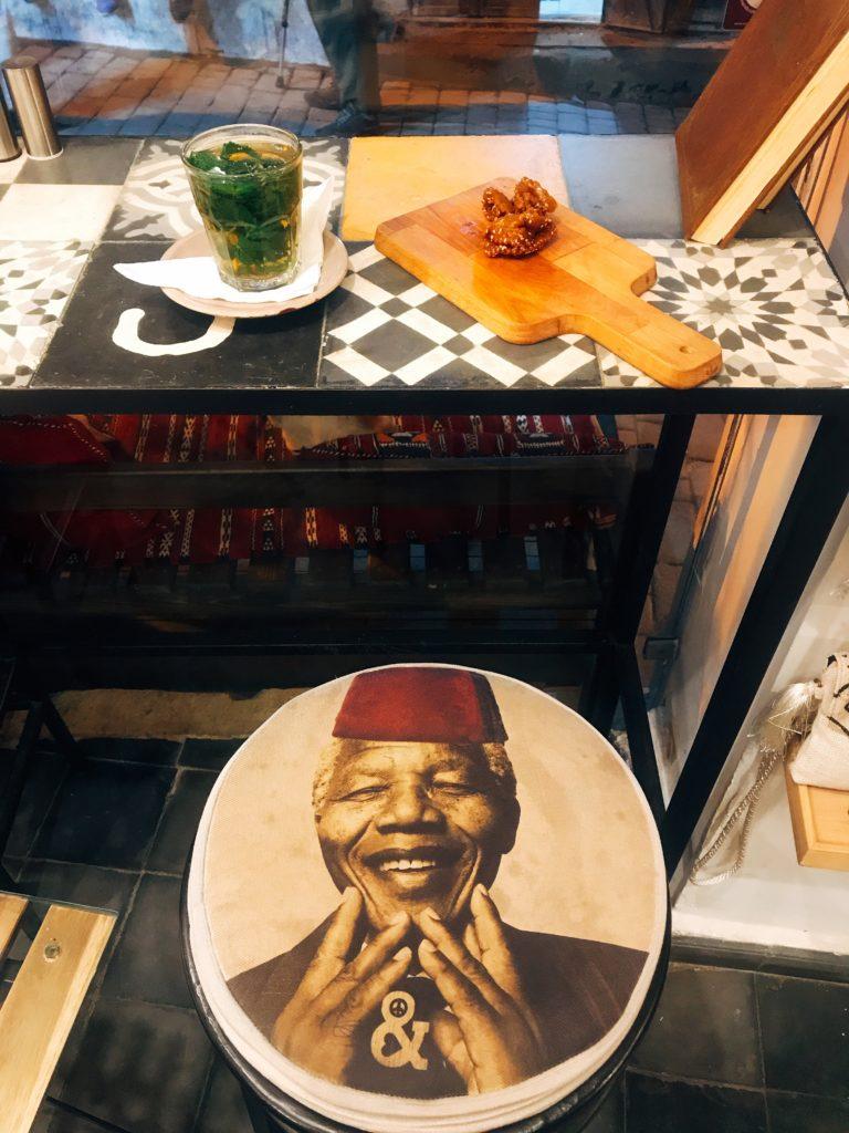 visiter maroc morocco Fes old medina café