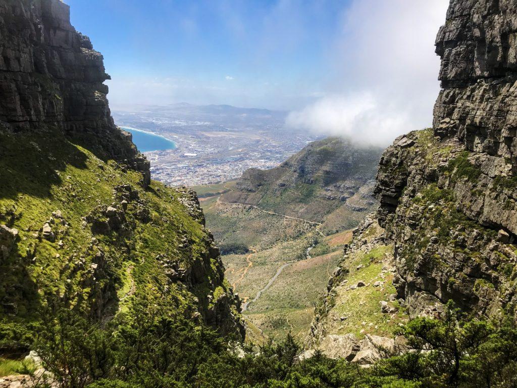 visiter le cap cape town afrique table mountain