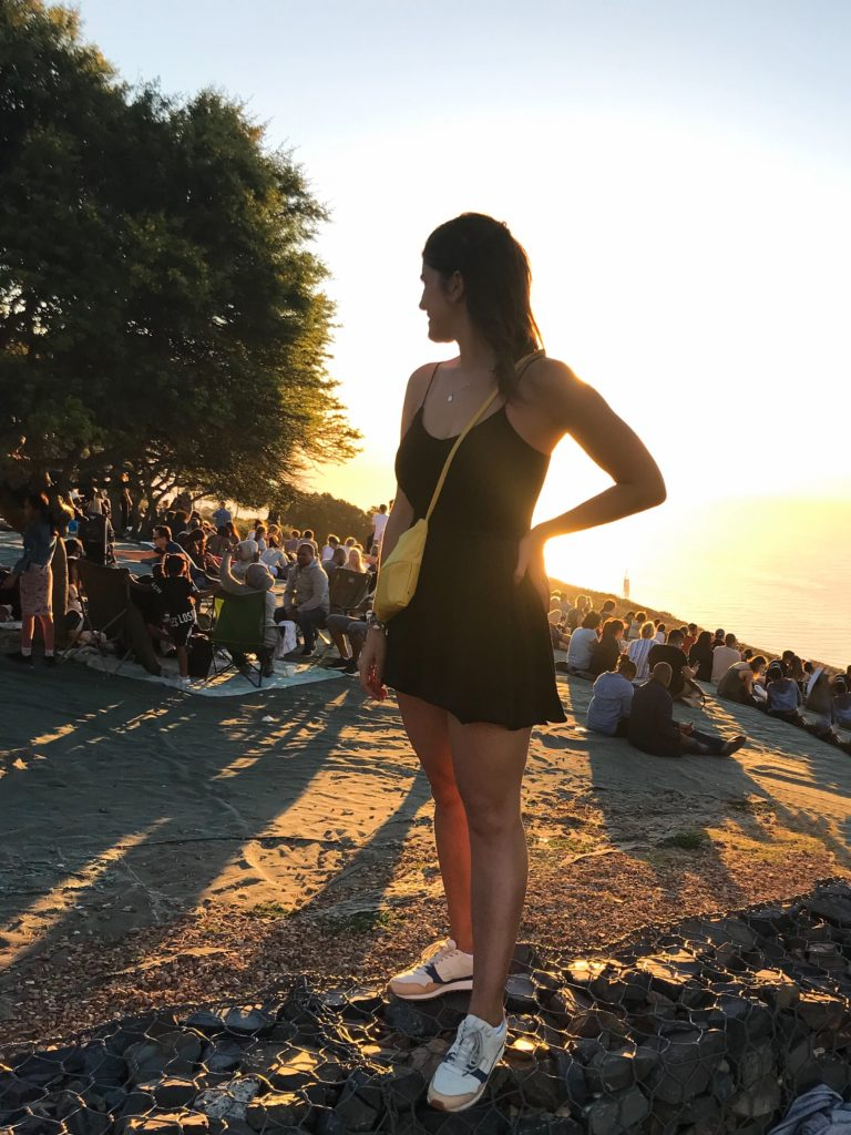 visiter le cap cape town afrique sunset