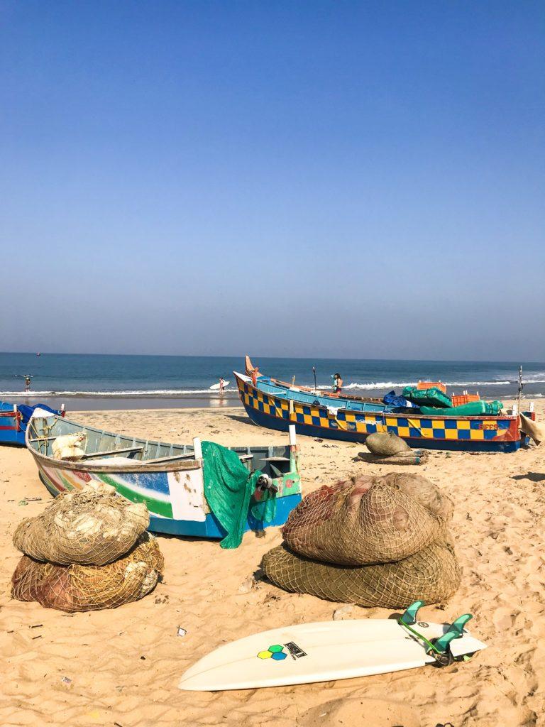 plage Varkala Kerala Inde Cliff