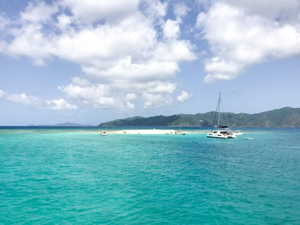 BVI british virgin island catamaran cruise