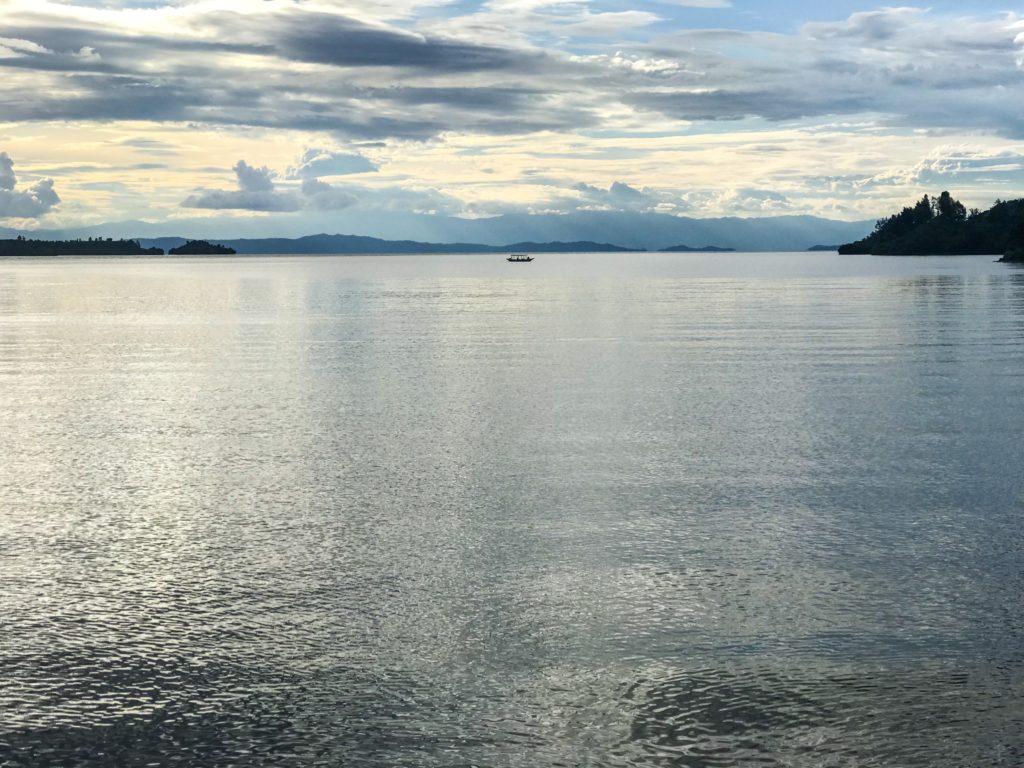 rwanda paysage kivu lake gisenyi